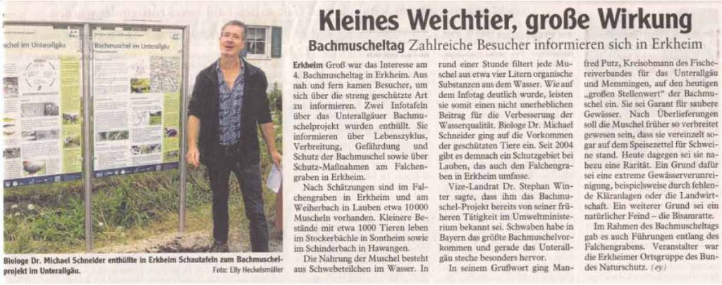 Bachmuscheltag 2014